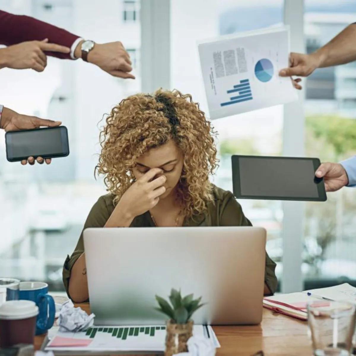 estrés burnout